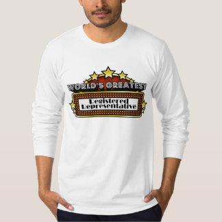 World's Greatest Registered Representative T-Shirt
