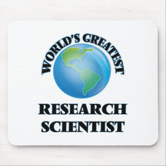 World's Greatest Research Scientist Mouse Pad