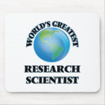 World's Greatest Research Scientist Mousepads
