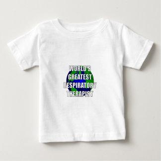 World's Greatest Respiratory Therapist Baby T-Shirt