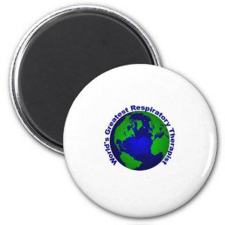 World's Greatest Respiratory Therapist Refrigerator Magnets