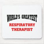 World's greatest respiratory Therapist Mouse Mat