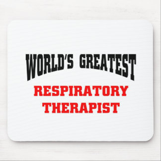 World's greatest respiratory Therapist Mouse Pad