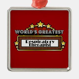 World's Greatest Respiratory Therapist Ornament