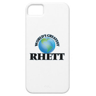 World's Greatest Rhett iPhone 5 Cases
