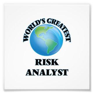 World's Greatest Risk Analyst Photo Print