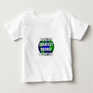 World's Greatest Rocket Scientist Baby T-Shirt