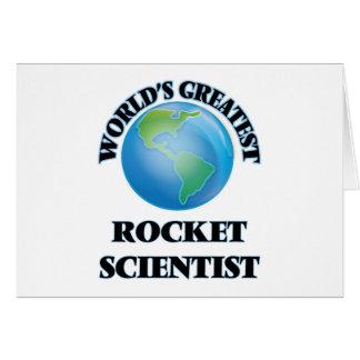 World's Greatest Rocket Scientist Card