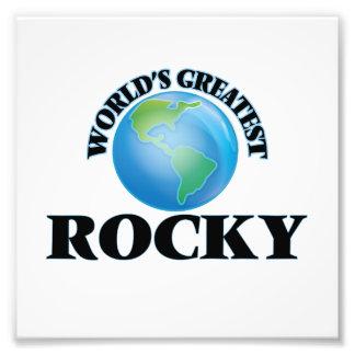 World's Greatest Rocky Photographic Print