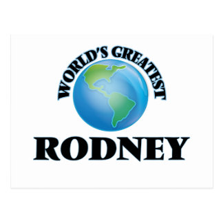 World's Greatest Rodney Postcards