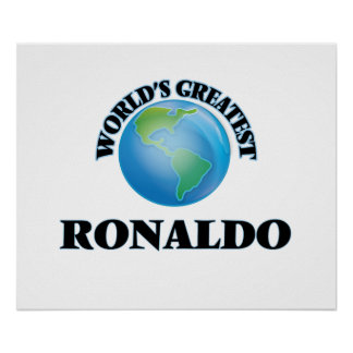 World's Greatest Ronaldo Poster