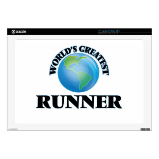 World's Greatest Runner Laptop Decal