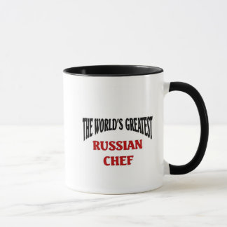 World's Greatest Russian Chef Mug