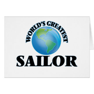 World's Greatest Sailor Greeting Cards