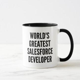 Worlds Greatest Salesforce Developer Mug
