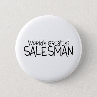 Worlds Greatest Salesman Pinback Button