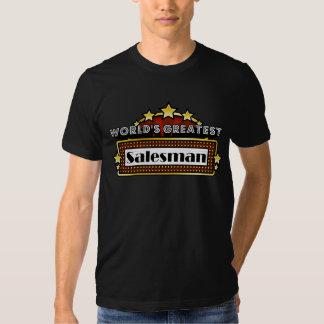 World's Greatest Salesman Tee Shirt
