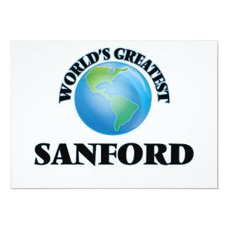 World's Greatest Sanford Custom Announcements