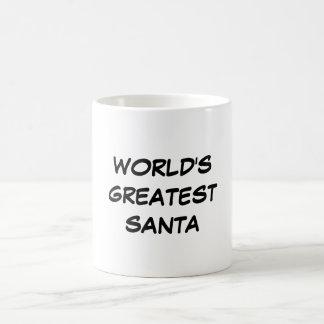 """""""World's Greatest Santa"""" Mug"""