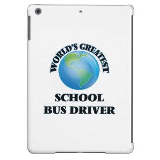 World's Greatest School Bus Driver iPad Air Cover
