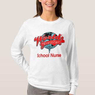 World's Greatest School Nurse T-Shirt
