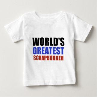World's greatest SCRAPBOOKER Baby T-Shirt