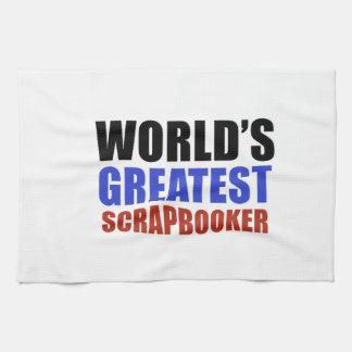 World's greatest SCRAPBOOKER Kitchen Towel