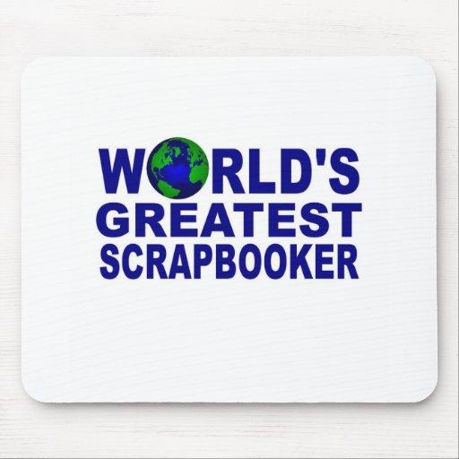 World's Greatest Scrapbooker Mousepads