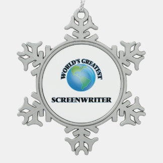 World's Greatest Screenwriter Ornament