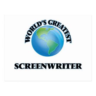 World's Greatest Screenwriter Post Cards