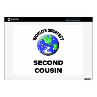 World's Greatest Second Cousin Acer Chromebook Skins