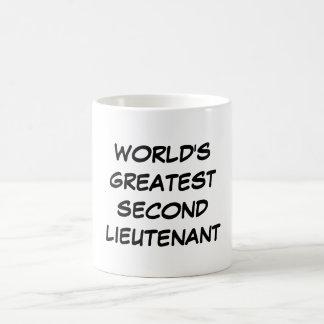 """World's Greatest Second Lieutenant"" Mug"