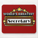 World's Greatest Secretary Mouse Pad