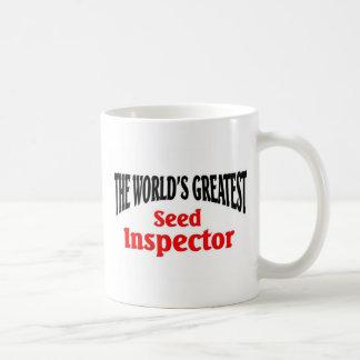 World's greatest Seed Inspector Coffee Mug