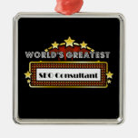 World's Greatest SEO Consultant Christmas Tree Ornaments