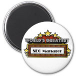 World's Greatest SEO Manager Refrigerator Magnets