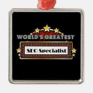 World's Greatest SEO Specialist Christmas Ornament