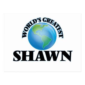 World's Greatest Shawn Postcard