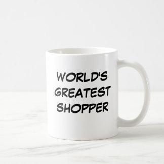 """World's Greatest Shopper"" Mug"