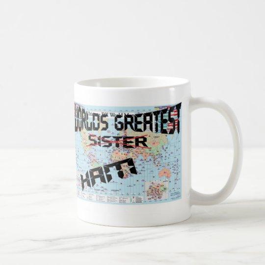 Worlds Greatest Sister/Ham Personalized Mug