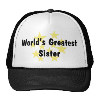 World's Greatest Sister Hat