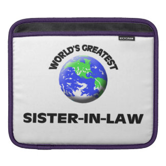 World's Greatest Sister-In-Law iPad Sleeves