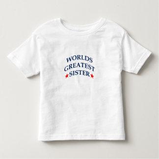 Worlds Greatest Sister Toddler T-shirt