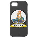 WORLDS GREATEST SNARK MEN CARTOON iPhone 5 CASES