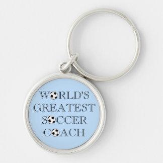 World's Greatest Soccer Coach Keychain