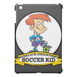 WORLDS GREATEST SOCCER KID CARTOON iPad MINI COVERS