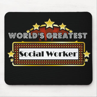 World's Greatest Social Worker Mousepads