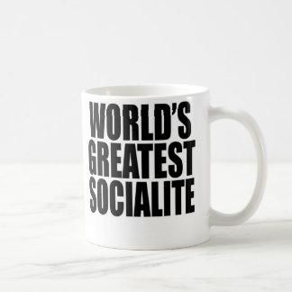 World's Greatest Socialite Coffee Mug