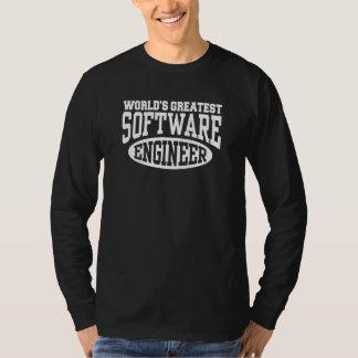 World's Greatest Software Engineer Tee Shirt