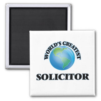 World's Greatest Solicitor Refrigerator Magnet